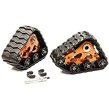 Integy RC Model Hop-ups T8632ORANGE Front Snowmobile & Sandmobile Conversion for Traxxas 1/10 Stampede 4X4 Slash 4X4