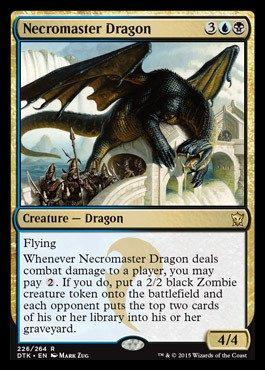 Amazoncom Magic The Gathering Necromaster Dragon 226264
