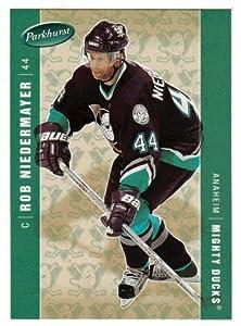 Rob Niedermayer (Hockey Card) 2005-06 Parkhurst # 12