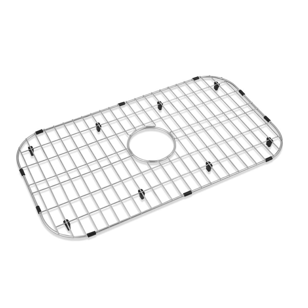 Serene Valley Kitchen Sink Bottom Grid and Sink Protector NDG3019, 304 Premium Stainless Steel, dim 26'' x 14 1/8'' by Serene Valley