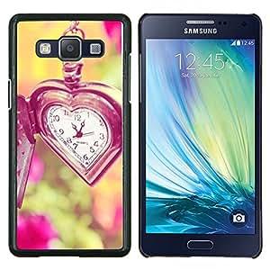 Dragon Case - FOR Samsung Galaxy A5 A5000 A5009 - time love waits summer vignette deep - Caja protectora de pl??stico duro de la cubierta Dise?¡Ào Slim Fit