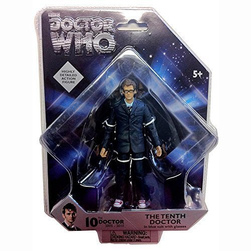 """Doctor Who Series 3: The Doctor- 5"""" Poseable Action Figure by Underground Toys"""