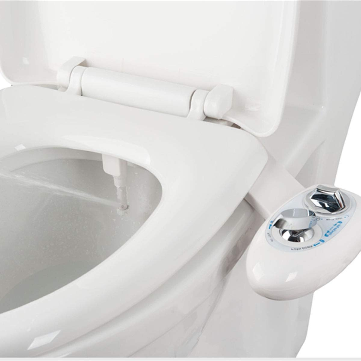 Good concept Fresh Water Spray Non-Electric Mechanical Bidet Toilet Seat Attachment Bathroom