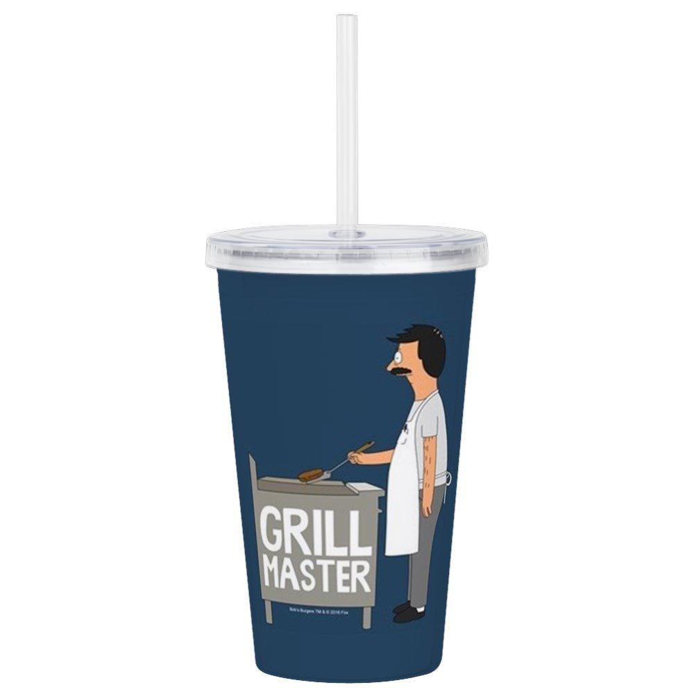 CafePress – Bob 's BurgersグリルMA – Insulated Straw Cup、20ozアクリルdouble-wallタンブラー   B07CRMP74Z