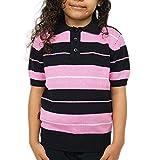 FB County Kid Charlie Brown Shirt Black/Pink/White