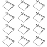 Metaltech 5in. Caster Lock Pins — 12-Pack
