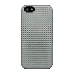 Durable Gray Lego Dots Pattern Back Cases/covers For Iphone 5/5s
