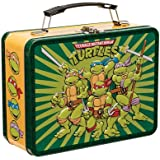 Vandor 38070 9 by 7.5 by 3.5-Inch Teenage Mutant Ninja Turtles Tin Tote, Multicolored