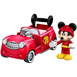 Fisher-Price Disney Mickey & the Roadster Racers, 2-in-1 Hot Doggin' Hot Rod