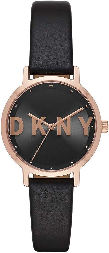 DKNY The Modernist Reloj de Cuarzo Oro rosá/Negro