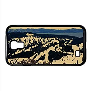 Snowy Mountains 5 Watercolor style Cover Samsung Galaxy S4 I9500 Case (Mountains Watercolor style Cover Samsung Galaxy S4 I9500 Case)