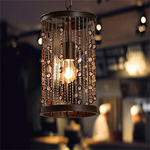 Contemporary Fashionable 5 Light Chandelier With Crystal Pendants in US - 4