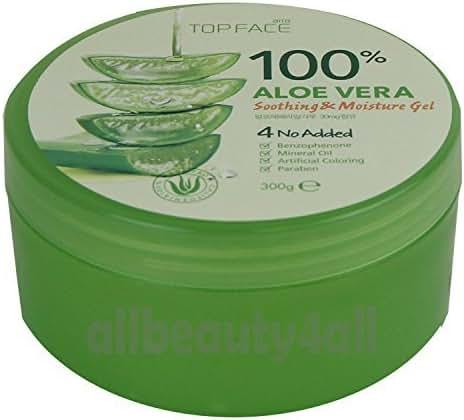 100% Aloe Vera Soothing & Moisture Gel (Made in Korea)