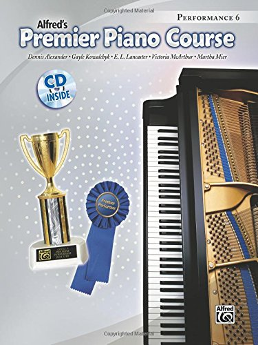 Piano Mix - Premier Piano Course Performance, Bk 6: Book & CD
