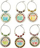 Cork It Metal Wine Charm Set 37 978