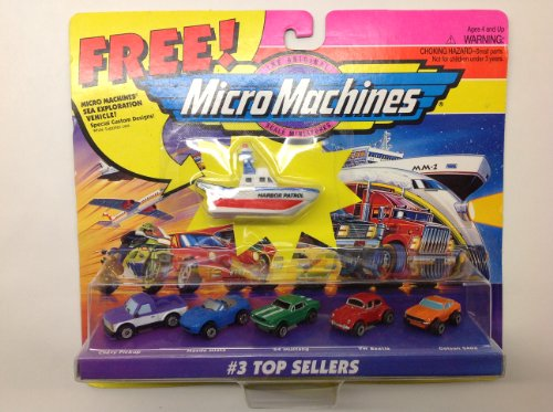 Micro Machines Top Sellers #3 Collection