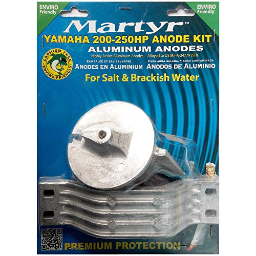 Martyr CMY200250KITA Aluminum Anode Kit for Yamaha 200-250 HP