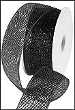 Metallic Poly Deco Mesh Ribbon