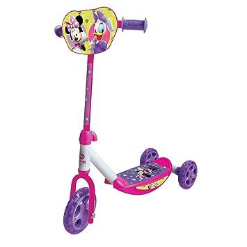 Rocco Giocattoli 20574360 - Patinete de 3 ruedas, diseño de Minnie
