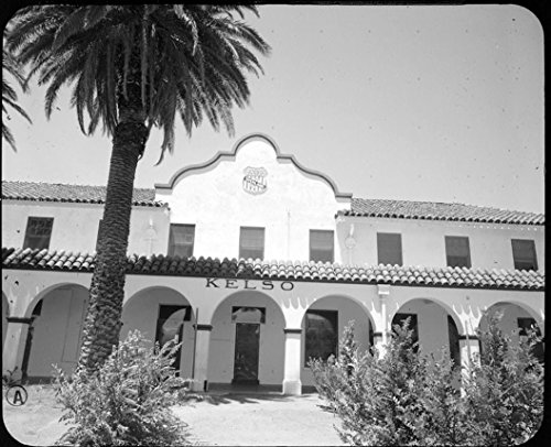 (Historic Photo | Union Pacific Railroad Depot, Intersection of Kelbaker & Kelso CIMA Roads, Kelso, San Bernardino County, CA 1 Photograph 20in x 16in)