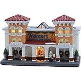 Holiday Time 6 inch Vintage Victorian Walmart Supercenter Christmas Village