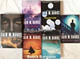 6 Books: Iain Banks Culture Series Set - Consider Phlebas, The Player of Games, Use of Weapons, Matter, Transition, Surface Detail (Culture Cycle Set Series Collection)