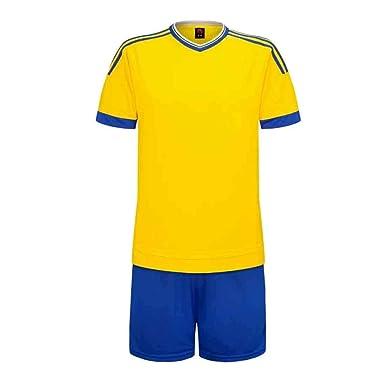 MUCHAO Uniforme de fútbol Adulto Infantil Juvenil Jersey Traje ...