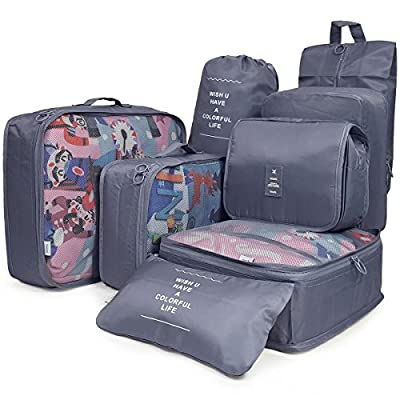 247a4ac5ef92 80%OFF Luggage Packing Cubes Travel Organizers Toiletry Bag for Travel