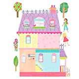 Wallies Wall Decals, Play House Wall Sticker, 16-1/4-inch x 21-3/4-inch