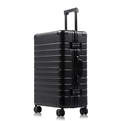 MZTYX Es Metal Aluminio-magnesio aleación Maleta, Maleta TSA aduana contraseña Cerradura embarque Maleta