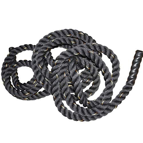UFC Fitness Training Rope Polyester Fighting Rope Fitness Thick Rope Muscle Big Reins Power Rope Battle Rope 9m, 12m, 15m (Color : Diameter 38cm, Size : 12m) by BAI-Fine (Image #1)