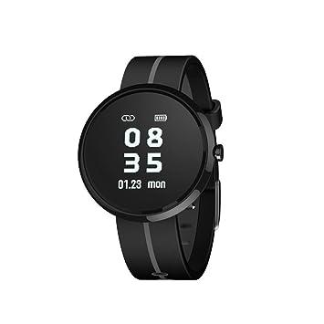 wawer v06s Bluetooth Smart Watch Tensiómetro de fecha Medidor de frecuencia cardíaca pulsera soporte Android 4.4