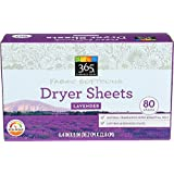 365 Everyday Value, Fabric Softening Sheets, Lavender, 80 Count