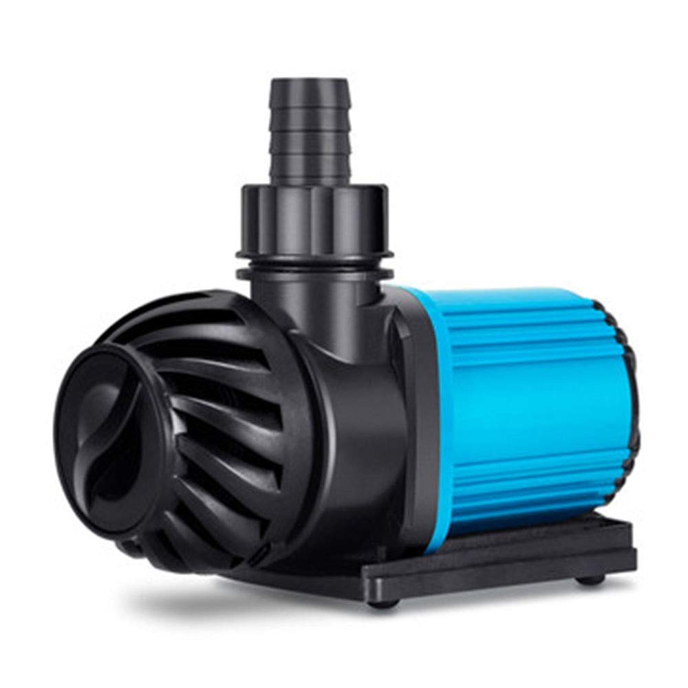 LIFUREN Fish Tank Oxygen Pump Submersible Pump Fish Tank Variable Frequency Water Pump Silent Fish Pond Circulation Pump Amphibious Aquarium (Color : Black, Size : 13-32W)