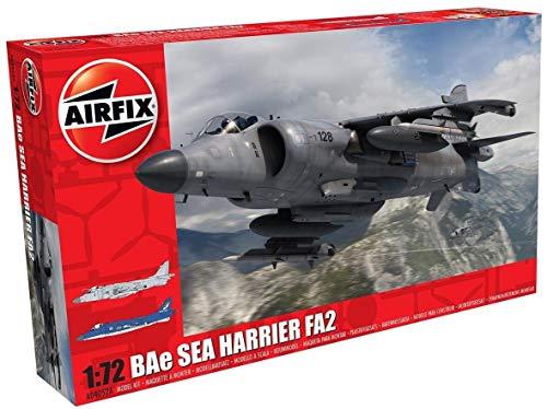 Airfix A04052A Bae Sea Harrier FA2 1/72 Model Building Kit, Multicolor