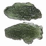 Meteorite Moldavite Cluster 49 Big Green Shark Fish Space Sailor Stones Astral Travel Crystals 1.1''