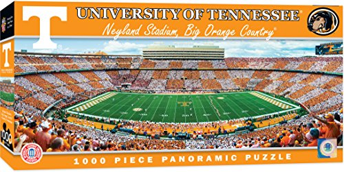 MasterPieces Collegiate Tennessee Volunteers 1000 Piece Stadium Panoramic Jigsaw Puzzle