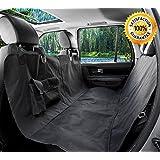 Protector para asientos de carro de uso rudo a prueba de agua y convertible en hamaca para perros y mascotas