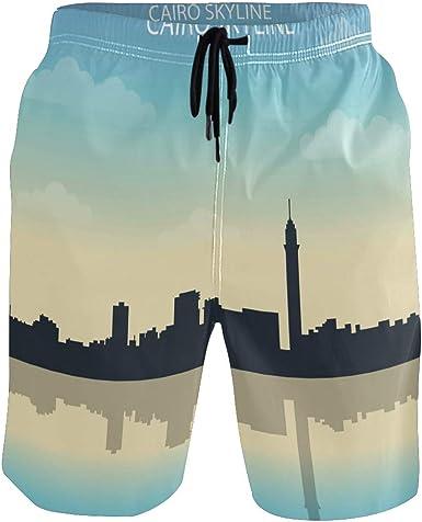 New Mens Casual Boardshorts Surf Board Shorts Swiwear Beach Sports Trunks Pants