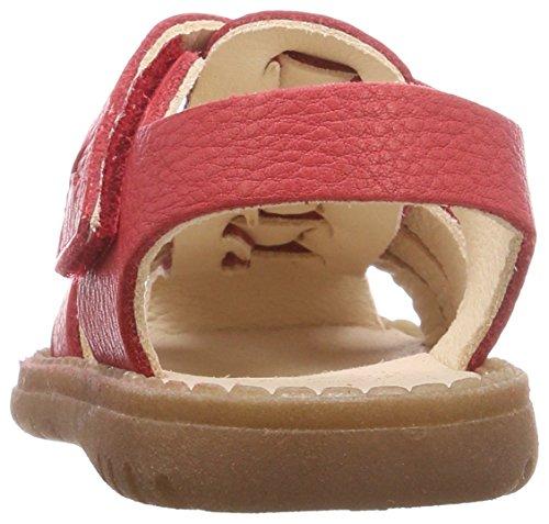 Pololo Unisex-Kinder Fiesta Knöchelriemchen Sandalen Rot (Rot)