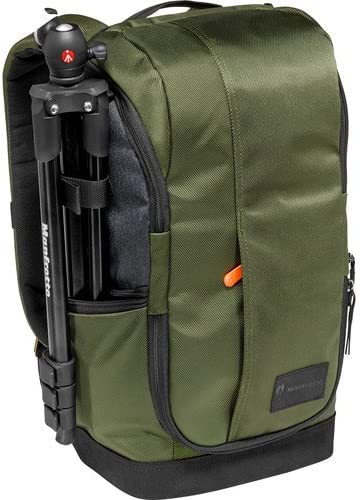 Green /& Grey Manfrotto MB MS-BP-GR Lightweight Street Camera Backpack for CSC