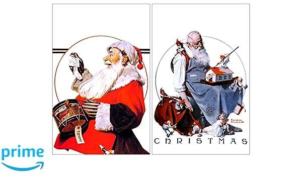 Christmas Poster//Santa Claus//Merry Christmas Poster 13x19 St Nick 2