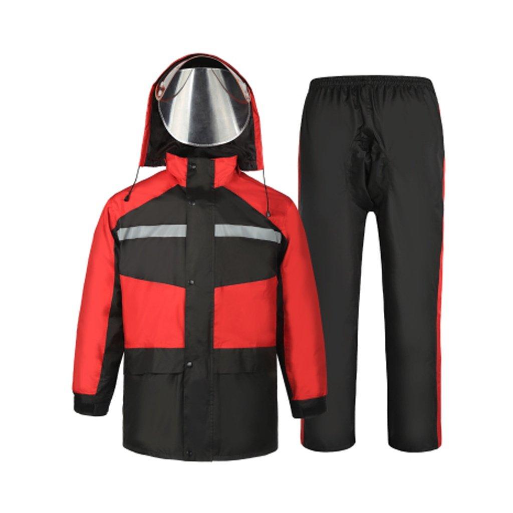 9c1fcd0aae1 LAXF- Manteaux imperméables Combinaison de pluie pour hommes et femmes  vêtements de pluie réutilisables (