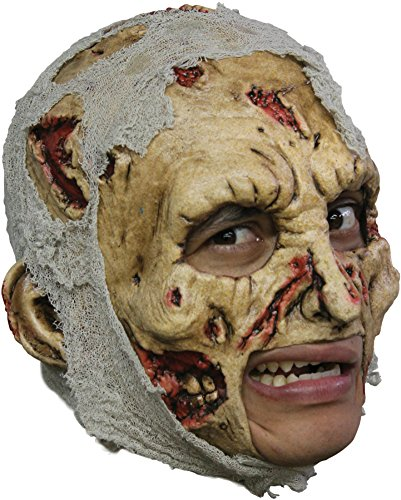 Zombie Dlx Chinles Horror Latex Adult Halloween Costume Mask