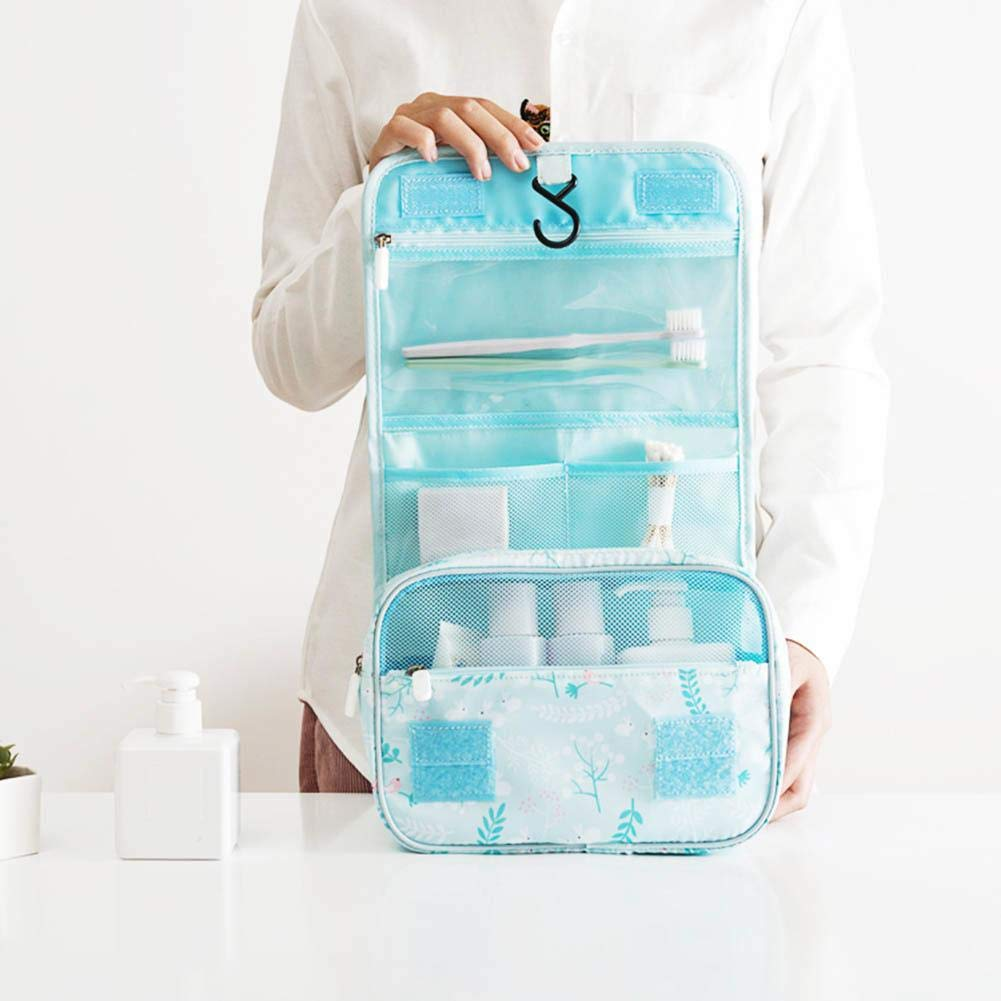 Storage Bags - Portable Travel Foldable Hanging Makeup Cosmetic Storage Wash Bag Toiletry Pouch - Ameda Milk Proof Pillows Amazon Comforters Totes Moth Hanging Bins Heavy Lock Breathable Hol