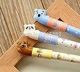 Gel Pen.cartoon Animal Print Pen for Writing,kawaii Stationery