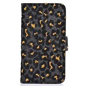 Moda Leopard caso de la cubierta del grano de cuerpo completo Elonbo J5M para iPhone 5C