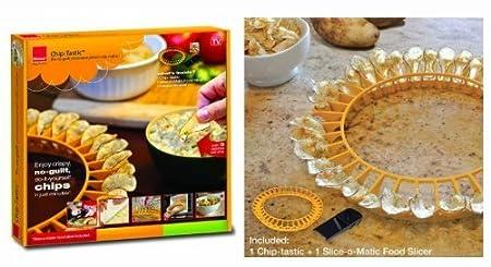 Ronco chip-tastic microondas patatas Chip eléctrica Home Supply ...