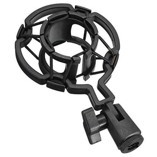 SODIAL Universal Professional Condenr Microphone Mic Shock Mount Holder Studio Recording Bracket For Large Diaphram Mic Clip