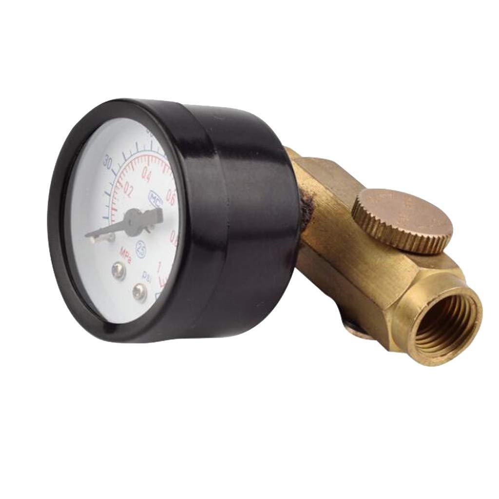 KESOTO 1/4 Zoll Einstellbare Mini Luftdruckregler Messuhr Sprayer Luftwerkzeug